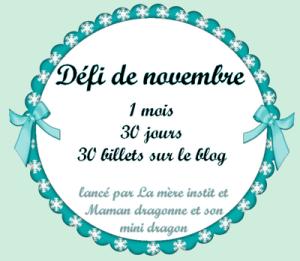 Défi Novembre 2014