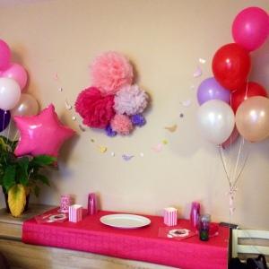 table déco gouter anniversaire