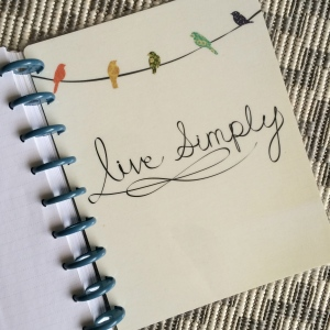 happy planner  live simply