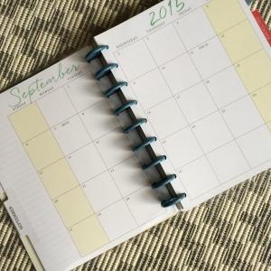 happy planner pallning mensuel