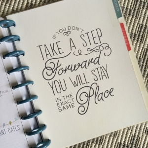 happy planner step