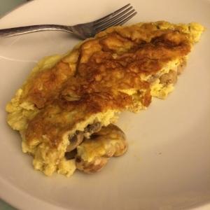 omelette champi
