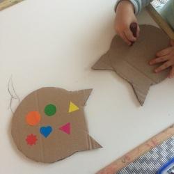 decoration-chat-carton